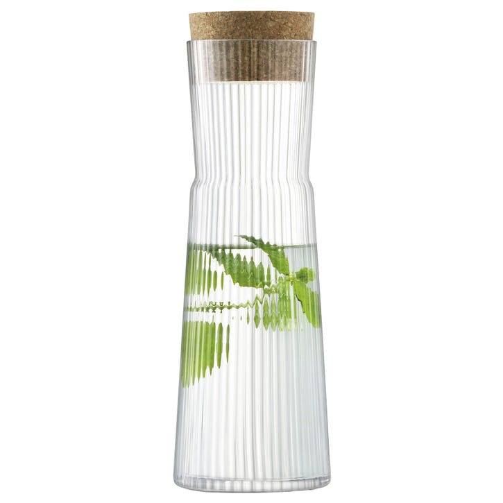 Gio Line Carafe with Cork Stopper, 1.35L