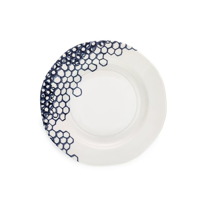 Ink Blue Pollen Side Plate