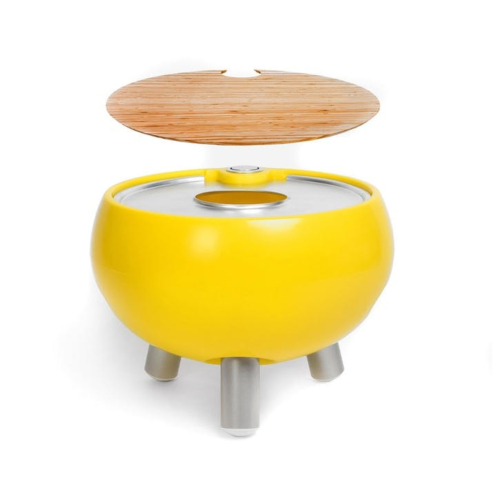 Freebird Entertaining Cooler Table, Egg Yolk