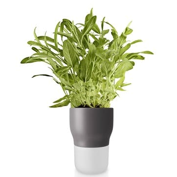 Self Watering Plant Pot, Nordic Grey