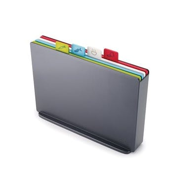 Index Chopping Board Set, Large, Graphite