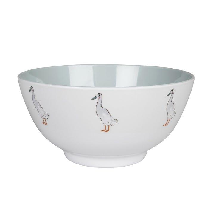 'Runner Duck' Melamine Bowl
