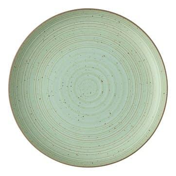Nature, Dinner Plate, Dia27cm, Green