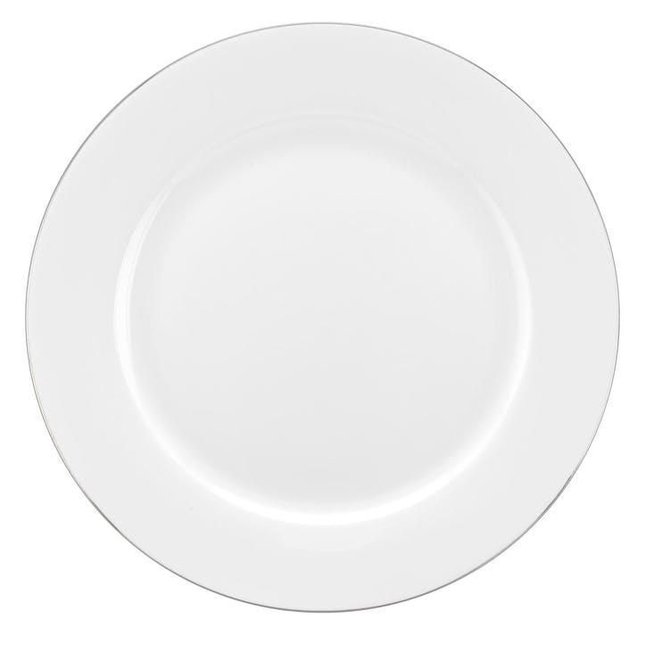 Serendipity Dinner Plate, Set of 4; Platinum
