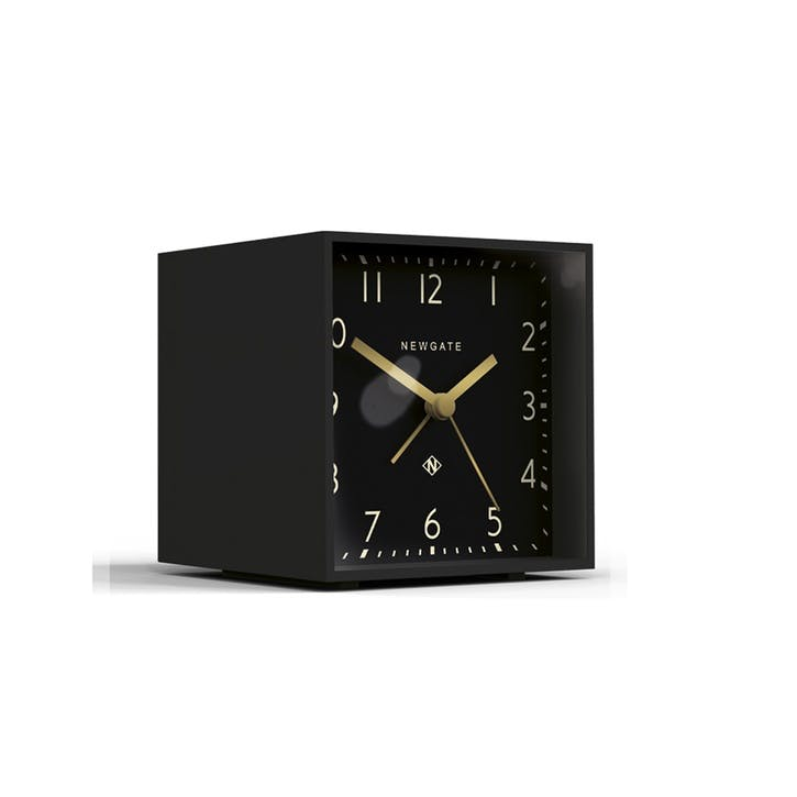 The Cubic Alarm Clock, Dia. 10cm, Gravity Grey