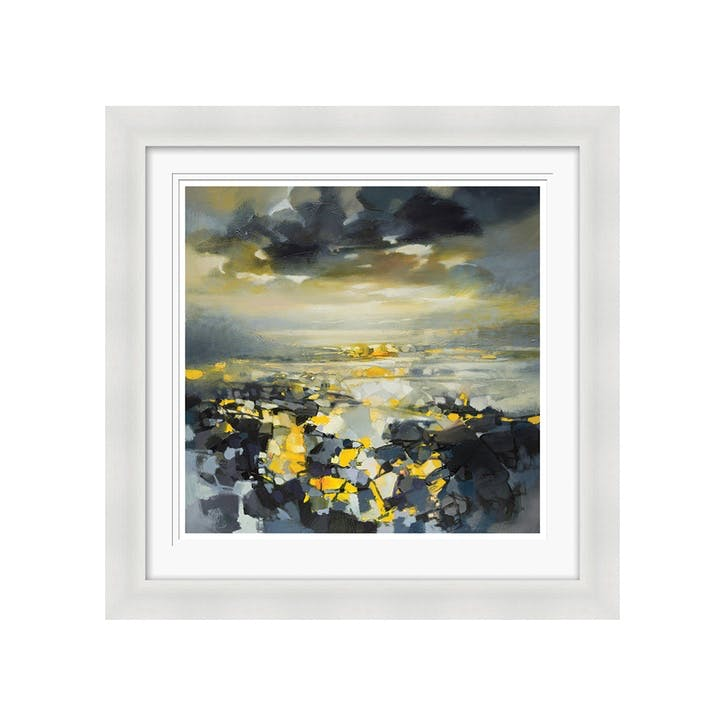 Scott Naismith Yellow Matter Framed Print, 71 x 71cm