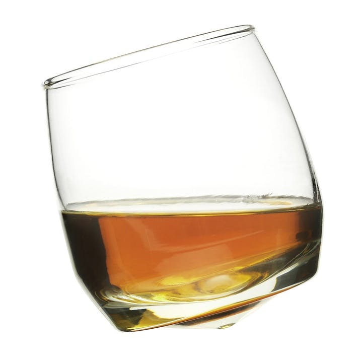 Rounded base Whiskey Glasses, Set of 6