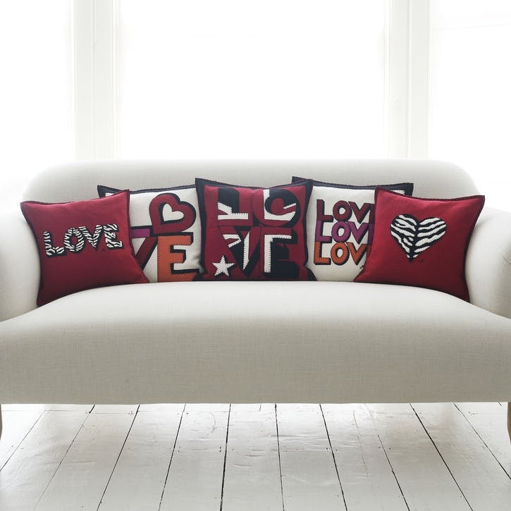 Love, Love, Love Cushion