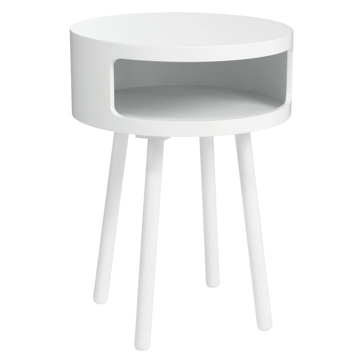 Bumble Side Table, White