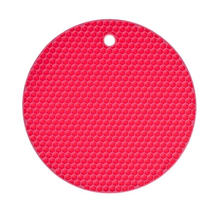 Honeycomb Trivet, 18cm, Pink