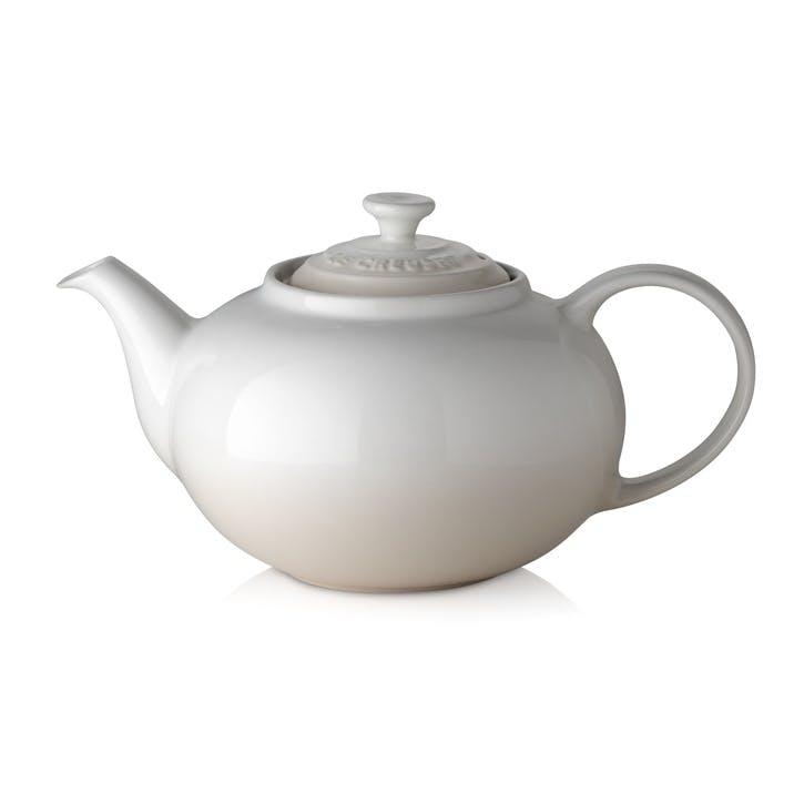 Stoneware Classic Teapot, Meringue