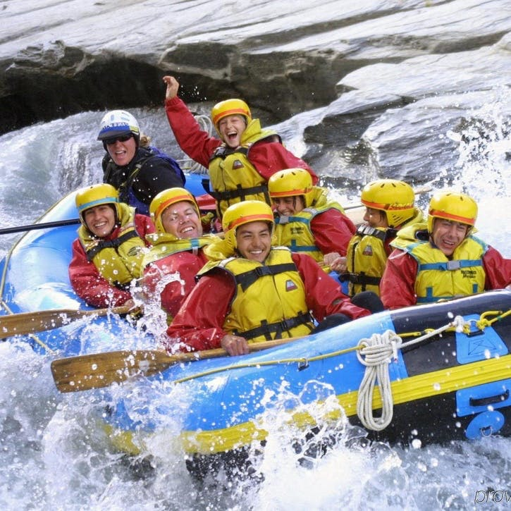 Honeymoon White Water Rafting £100