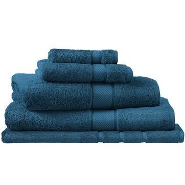 Luxury Egyptian Kingfisher Hand Towel