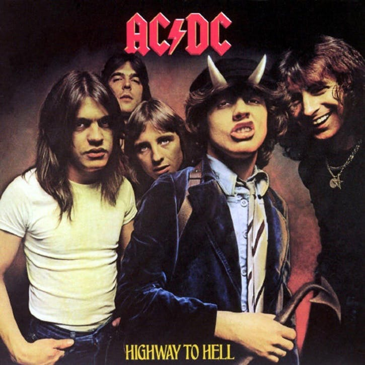 "AC/DC, Highway To Hell 12"" Vinyl"