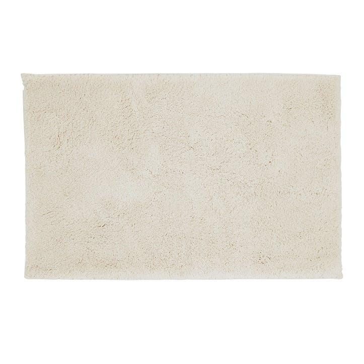 Deep Pile Bath Mat, Parchment