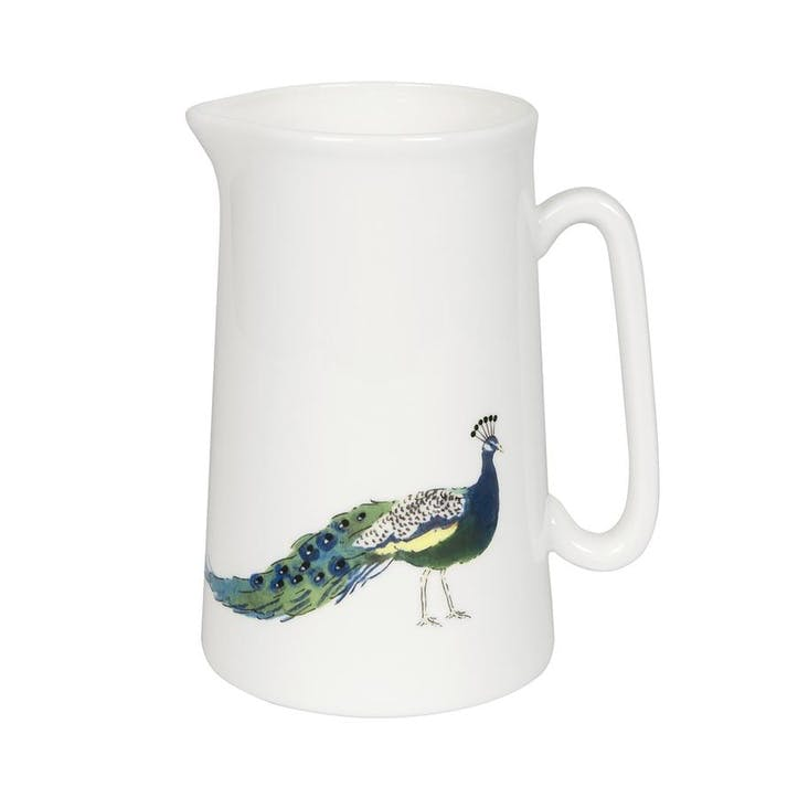 'Peacocks' Jug, Medium