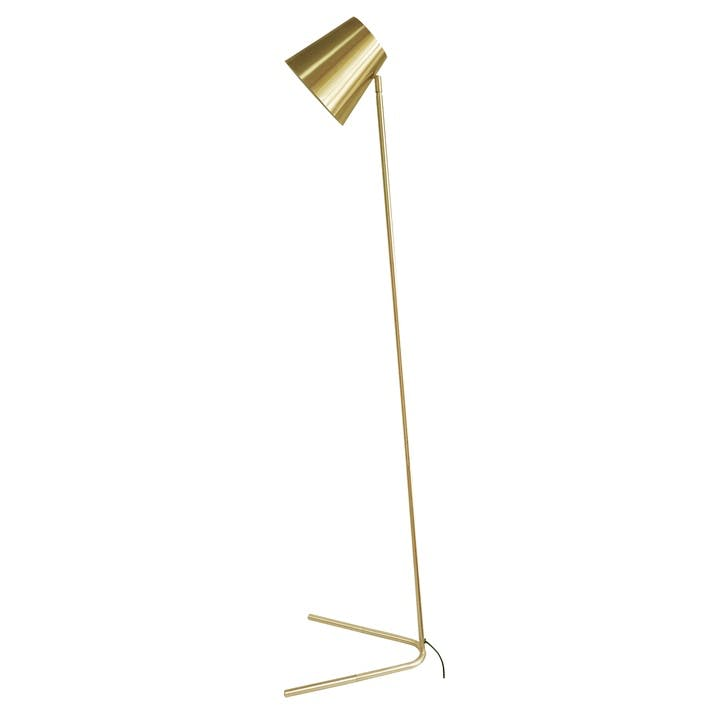 Noble Floor Lamp, Gold