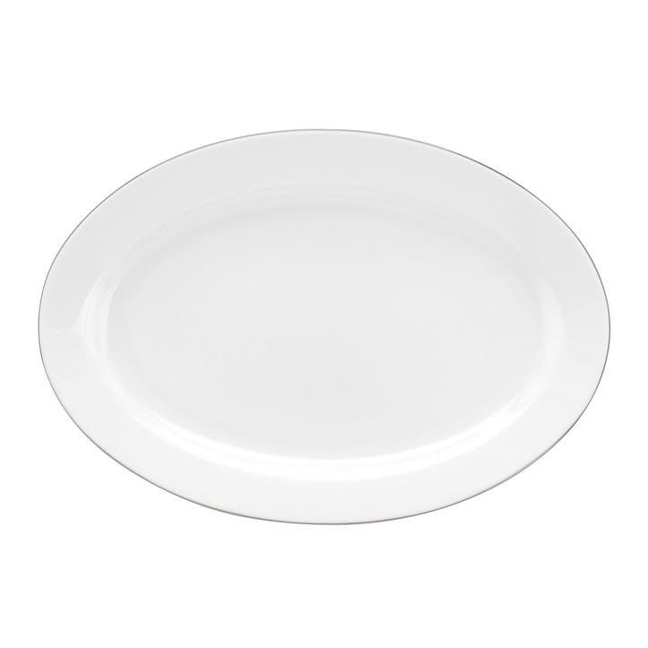 Serendipity Oval Platter; Platinum