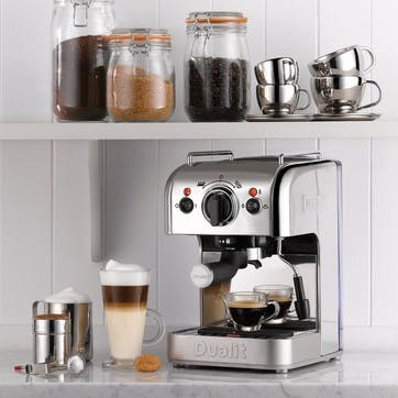 Multi Brew Coffee Machine; Polished