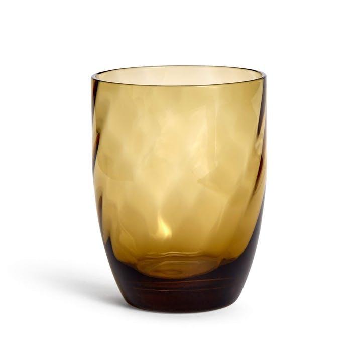 Rosendale Rocks Glass, Amber
