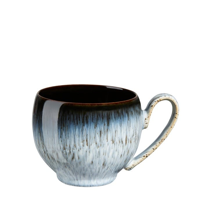 Halo Small Mug, Black/ Blue