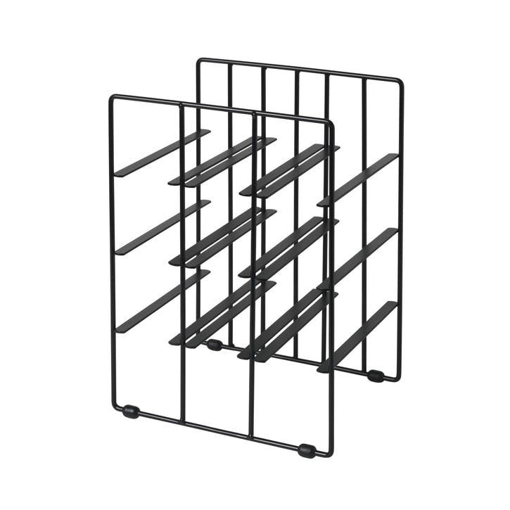 Wine Rack, Small, Black