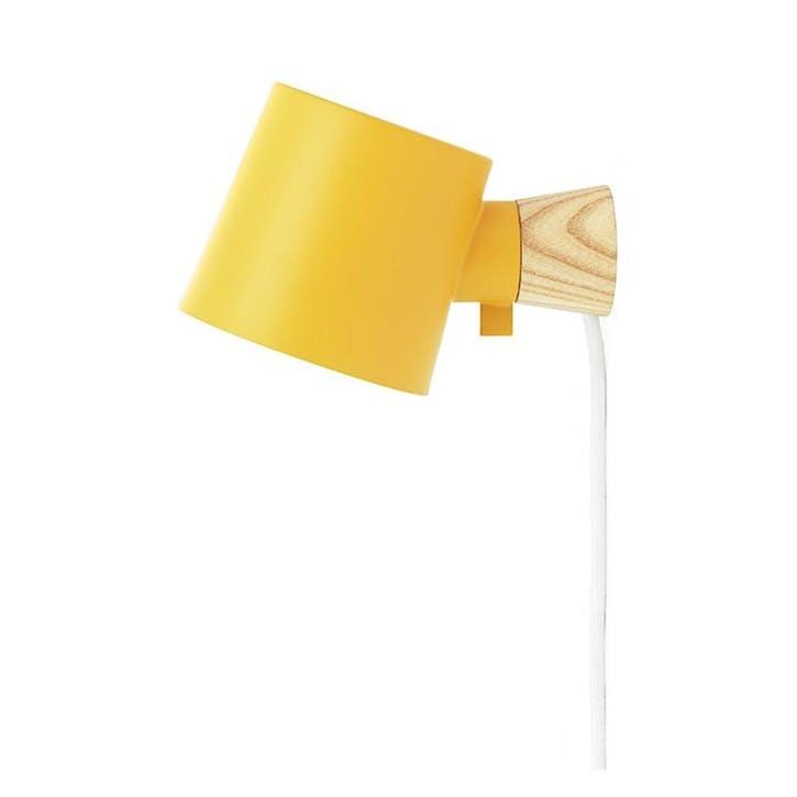 Rise Wall Light L17 x D10 x H9.7cm Yellow