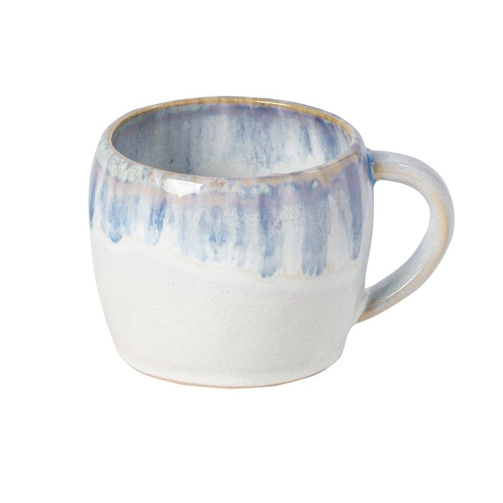 Brisa Ria Blue Mug, Set of 6, 0.34L