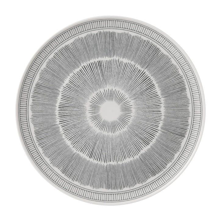 ED Ellen DeGeneres Serving Platter, Charcoal Grey