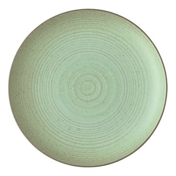 Nature, Side Plate, Dia22cm, Green