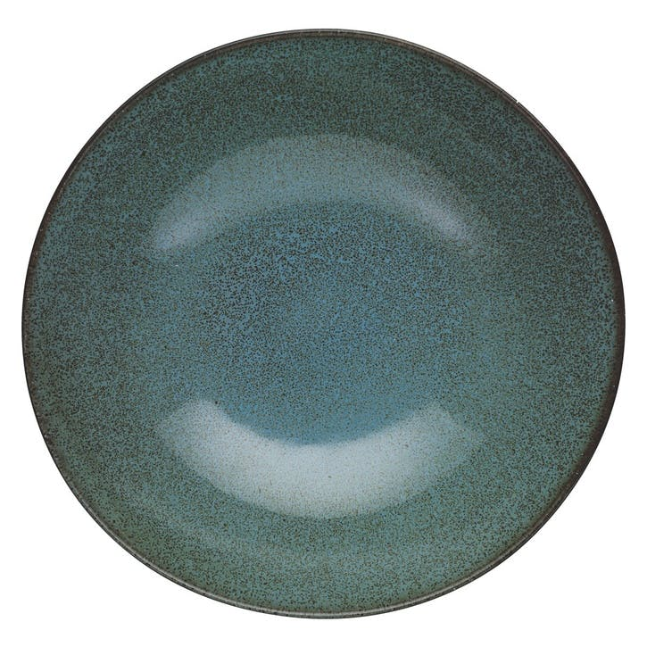 Olmo Salad Bowl, Turquoise