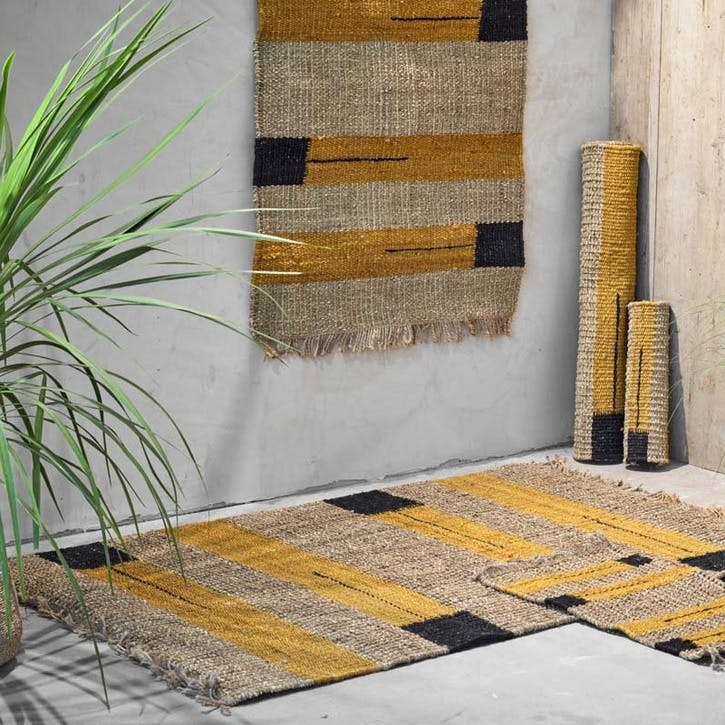 Balori Hemp and Seagrass Rug, 1.5 x 2.4m