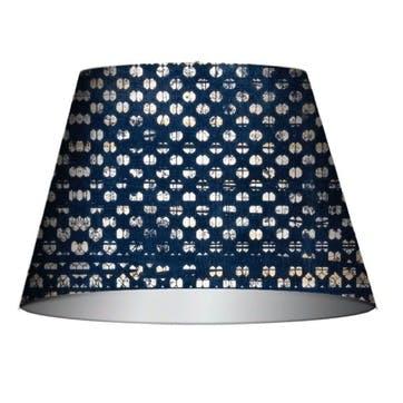 Blauw Cone Lampshade, Medium