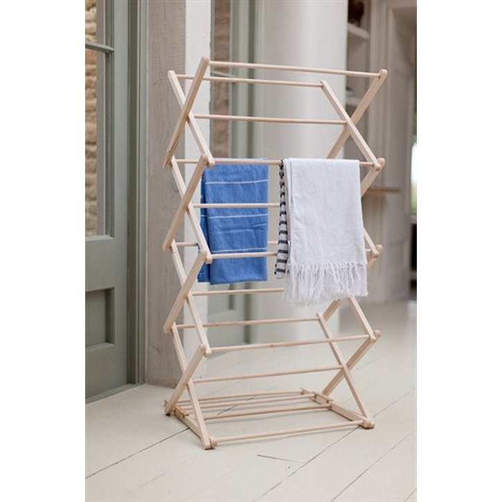 Wooden Clothes Horse in Beech