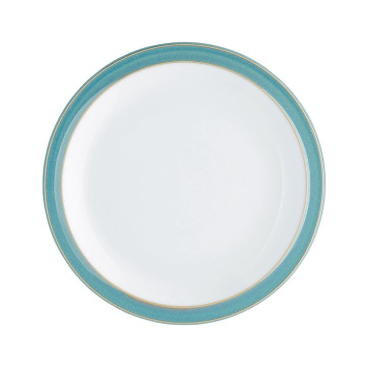 Azure Medium Plate, 22.5cm, Blue