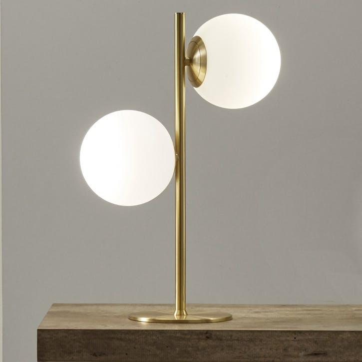 Monroe Table Lamp, Gold