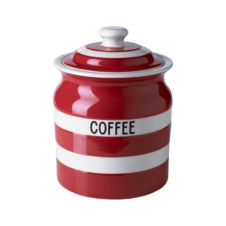 Coffee Storage Jar, 30oz/84cl, Red