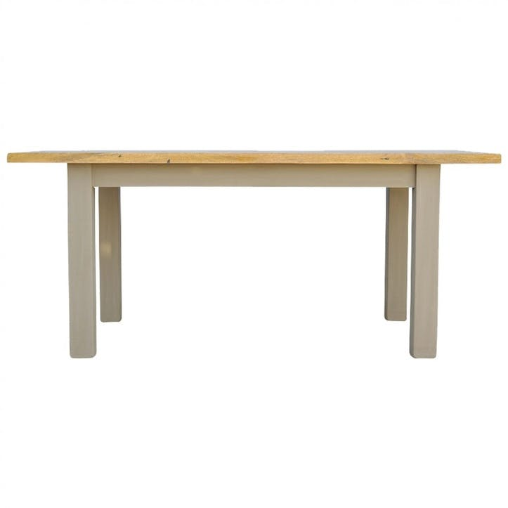 Cotswold Dining Table, Grey/Natural