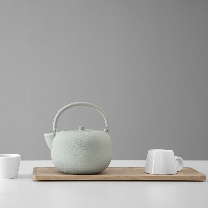 Saga Teapot, Green