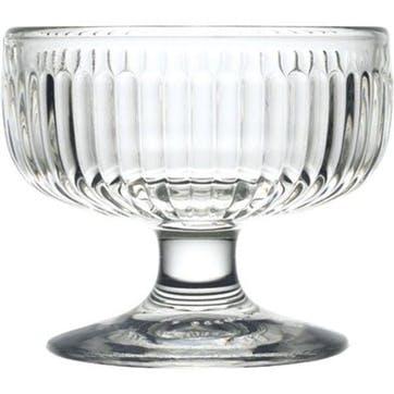 Tahiti, Set Of 6 Sundae Bowls, 23ml, Clear