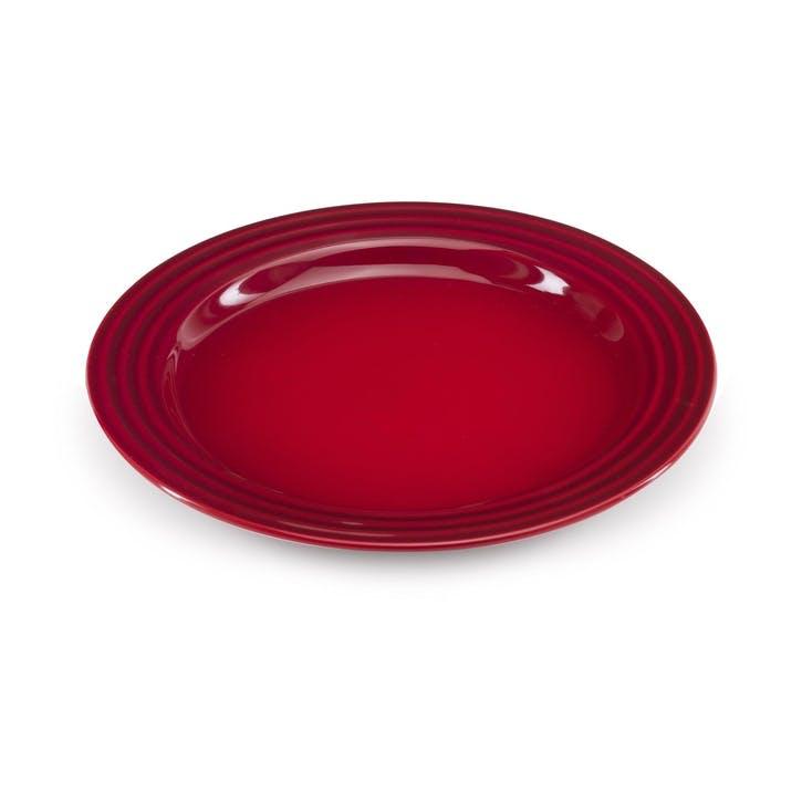 Side Plate - 22cm; Cerise