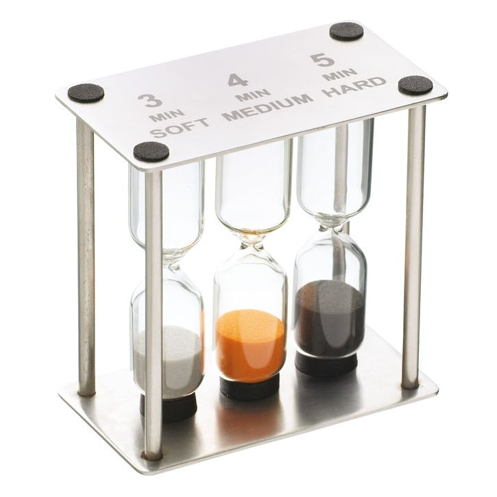Professional Stainless Steel Triple Sand Timer
