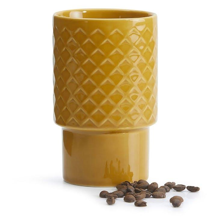 Coffee & More, Latte Mug, 400ml, Yellow