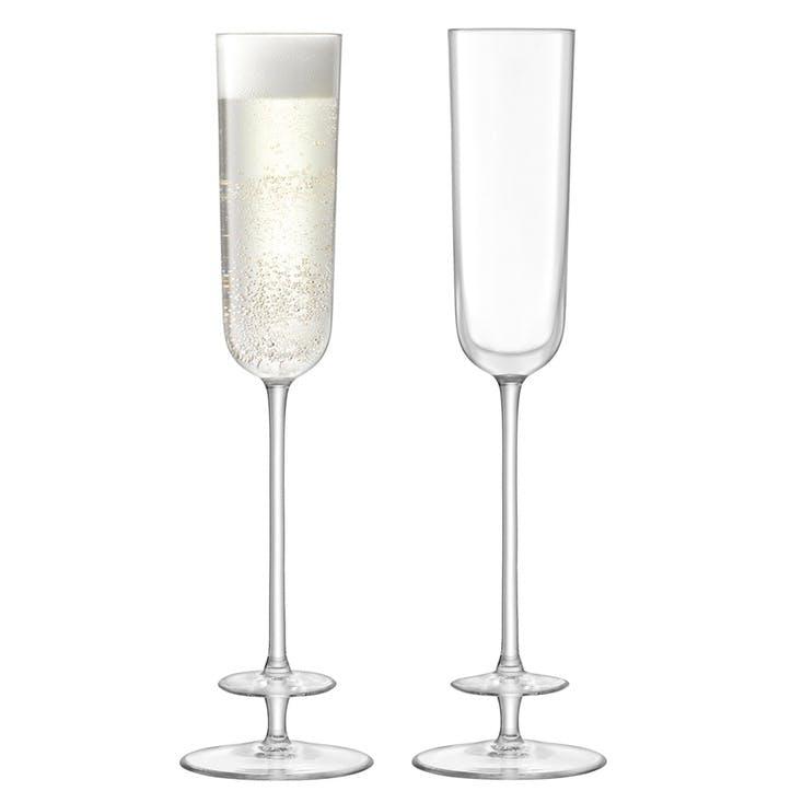 Champagne Theatre Flute, Set of 2