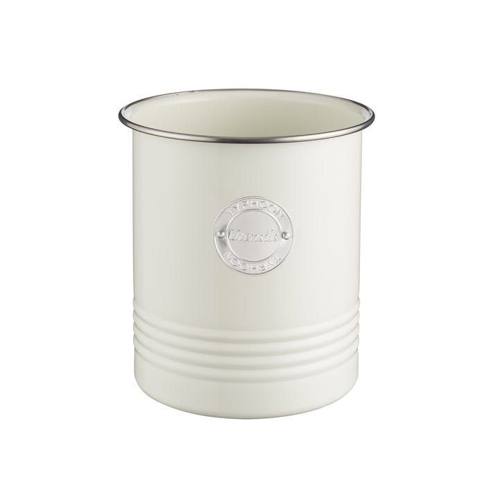 Living Utensil Pot, Cream