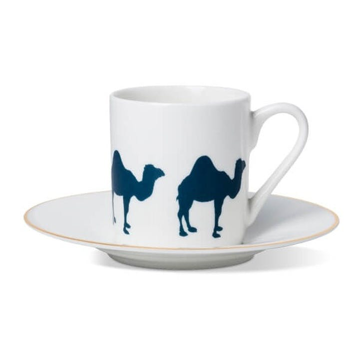 Camel Cup and Saucer