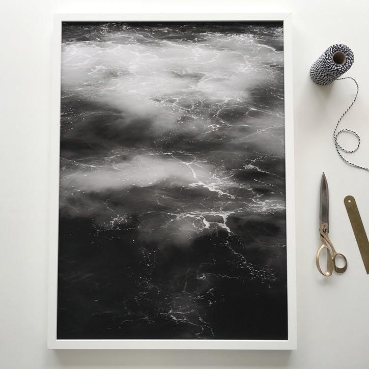 Ocean Print - 60 x 80cm