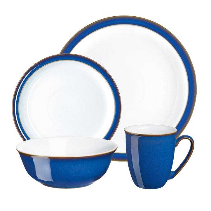 Imperial Blue 16 Piece Tableware Set