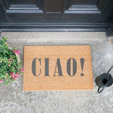 Ciao Doormat, Grey