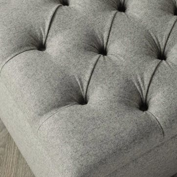 Richmond Wool Bed, King, Light Grey